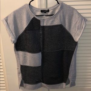 Sanctuary Knit Top (grey)